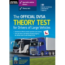 The Official DVSA Theory Test for Drivers of Large Vehicles DVD-Rom  (RRP - £29.99)
