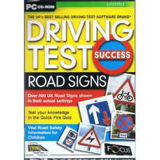 Driving Test Success Road Signs CD-Rom  (RRP - £9.99)