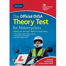 Official DVSA Theory Test for Motorcyclists book (03/20) (RRP - £16.99)