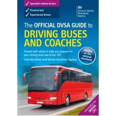 The Official DVSA Guide to Driving Buses and Coaches book  (RRP - £19.99)