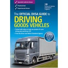 The Official DVSA Guide to Driving Goods Vehicles book  (RRP - £19.99)
