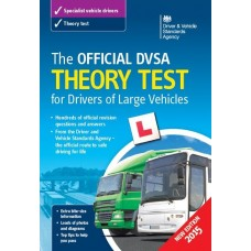 The Official DVSA Theory Test for Drivers of Large Vehicles book  (RRP - £19.99)