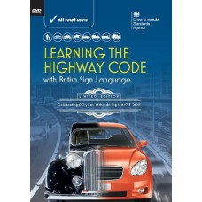 Learning the Highway Code with British Sign Language DVD 2015 Edition (RRP - £7.99)